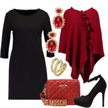 Outfit La mantella rossa