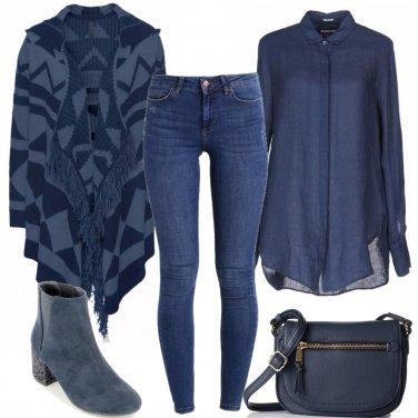 Outfit Tutta in blu