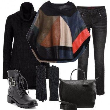 Outfit Una mantella particolare