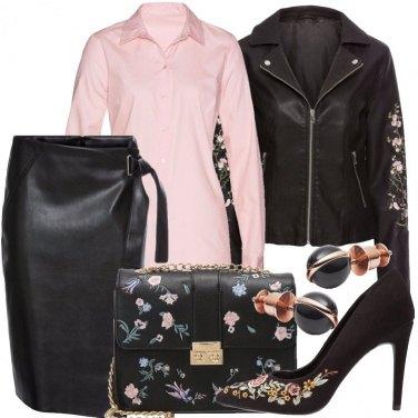 Outfit Rock romantico