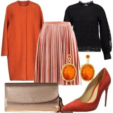 Outfit In arancione
