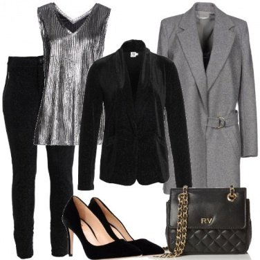 Outfit Tailleur in velluto