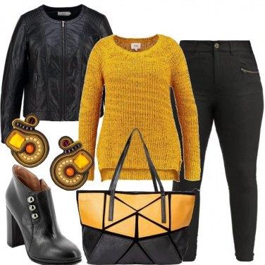 Outfit Non mi vesto di giallo