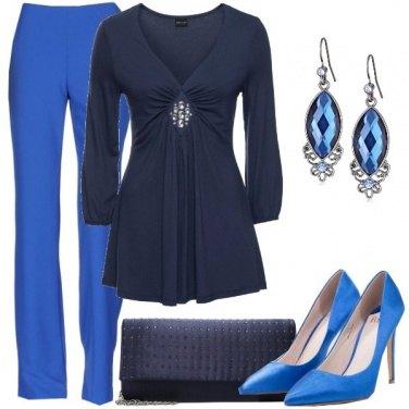 Outfit Sfumando il blu