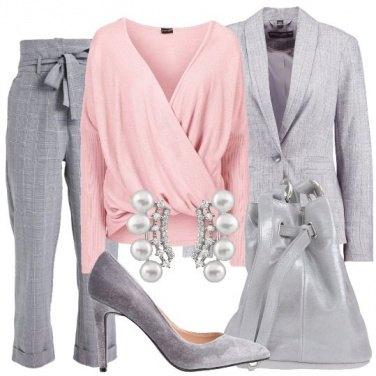 Outfit Maglia incrociata