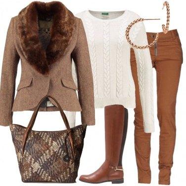 Outfit Il blazer marrone