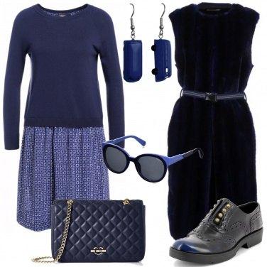 Outfit Passeggiata in blu