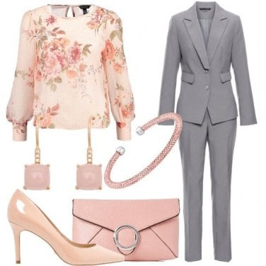 Outfit Romantica in tailleur