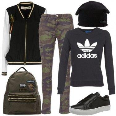 Outfit Faccio il militare