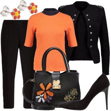 Outfit Riunione colorata