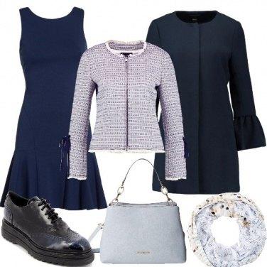 Outfit Nel mondo dei toni blu