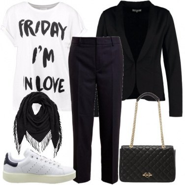 Outfit La t-shirt con stampa