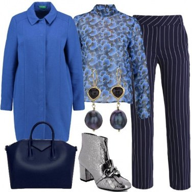 Outfit Formale in blu