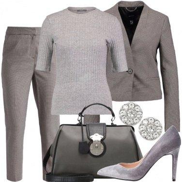 Outfit Tutto grigio