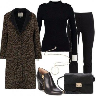 Outfit Il cappotto particolare