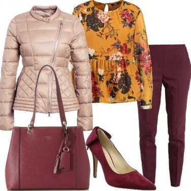 Outfit La blusa fantasia floreale
