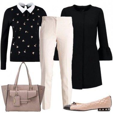 Outfit In ufficio ballerine e buone maniere