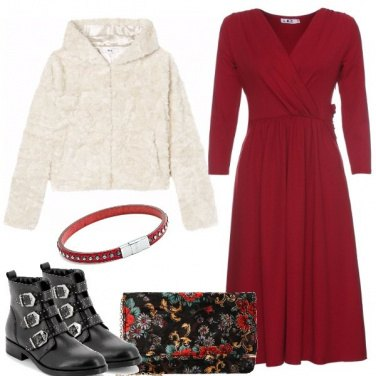 Outfit Il vestito e gli stivaletti