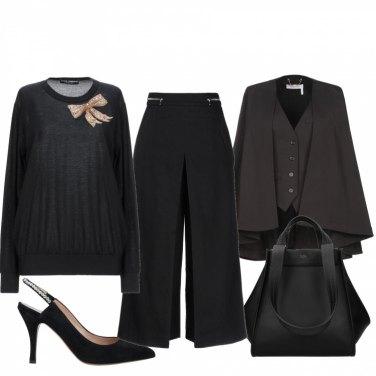 Come abbinare il pantalone contrasto nero: 189 Outfit Donna