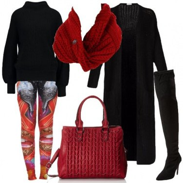 Outfit Leggings fantasiosi