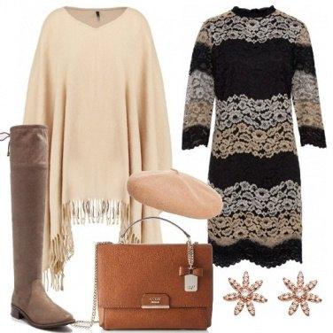 Outfit Mantella e stivali