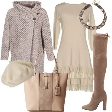 Outfit Regina del bianco