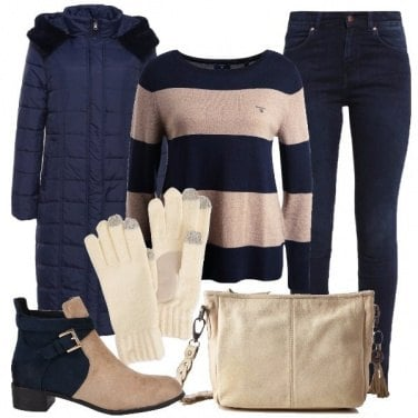 Outfit Bicolore
