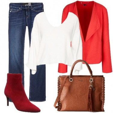 Outfit Giacca in lana
