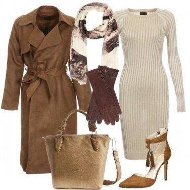 Outfit Toni di marrone