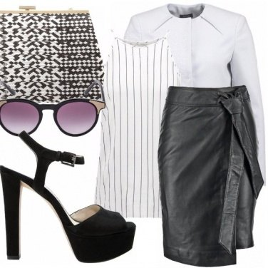 Outfit White feather