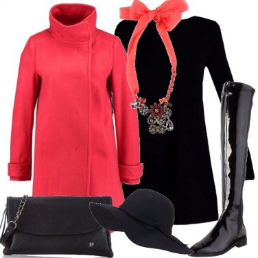 Outfit Cappotto colorato
