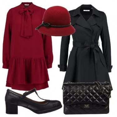 Outfit Il cappellino rosso