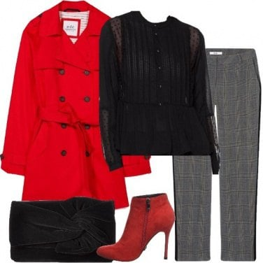 Outfit Tacco rosso