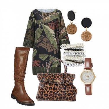 Come abbinare gli stivali e anfibi marroni: 1000 Outfit