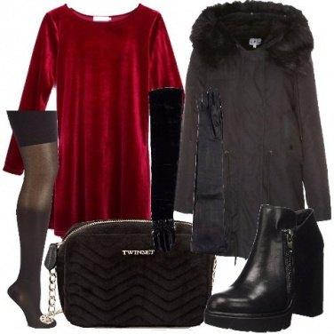 Outfit Abbinamenti con il velluto