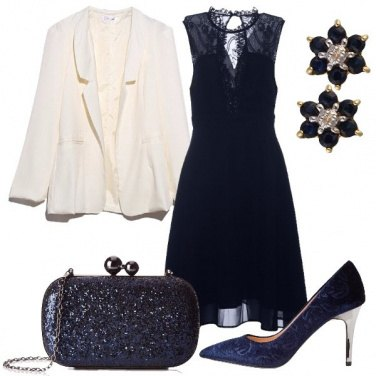 Outfit Magia in blu
