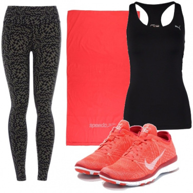 Outfit Sport e leggings