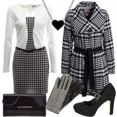 Outfit Pied de poule