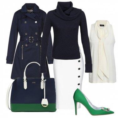 Come abbinare il cappotto con bottoni blu: 261 Outfit Donna