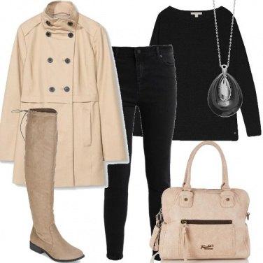 Outfit Chiaro e scuro