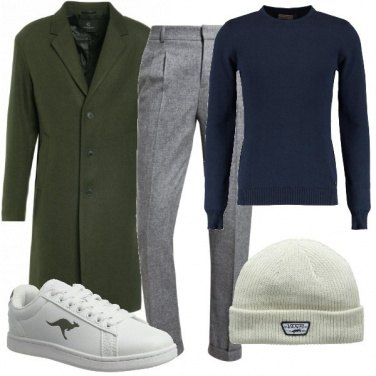 Outfit Il cappotto informale