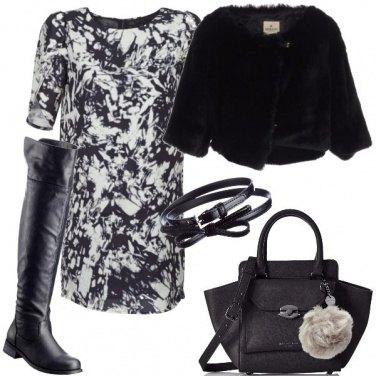 Outfit Vestito e stivali