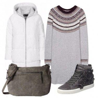 Outfit Caldo e avvolgente