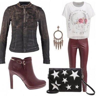 Outfit Rock leggings