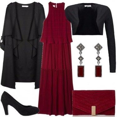 Outfit Il vestito lungo di Pinko