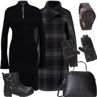 Outfit I guanti con le borchiette