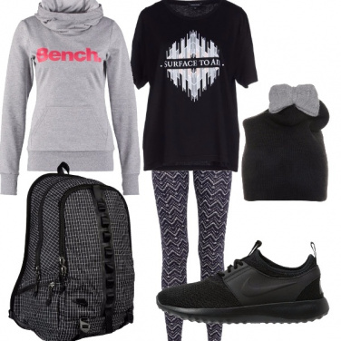 Outfit Comoda in leggings