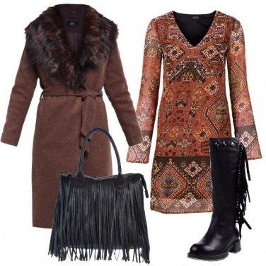Outfit In stile bohémien