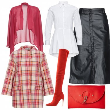 sconto sporco a buon mercato negozio online Come abbinare gli stivali e anfibi tinta unita rossi: 152 Outfit ...