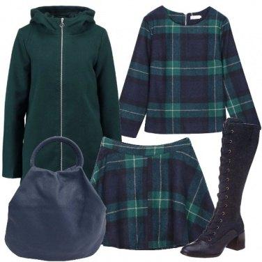 Outfit Completo a quadri
